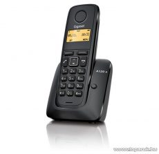 Siemens Gigaset A120A vezeték nélküli (DECT) telefon üzenetrögzítővel, fekete