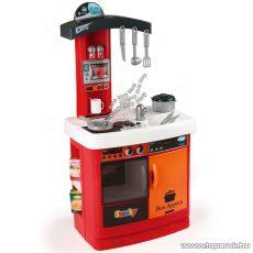Smoby Bon Appetit elektromos játék konyha - piros-narancs (7600024134) - Megszűnt termék: 2015. November