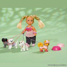 Steffi Love Évi baba kutyákkal (105739053) - Megszűnt termék: 2017. Február