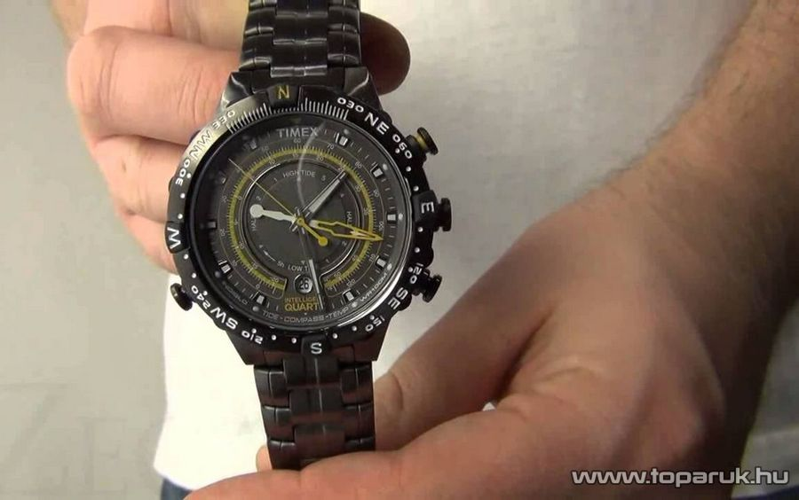 Timex T2P139 Intelligent Quartz férfi karóra hőmérsékletmérővel ... 1f9e2b7fb4