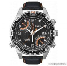 Timex T49867 Intelligent Quartz Chronograph Compass férfi karóra, ajándék kuponnal