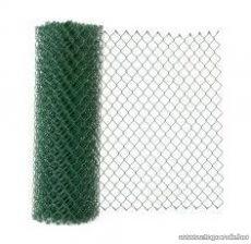Drótfonat PVC bevonatú műanyagozott vashuzal (kerítésdrót), huzalvastagság: 1,7 mm, 25 fm / tekercs
