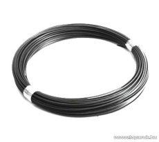 Félkemény feszítőhuzal, fémszínű, 3,1 mm huzalvastagság (kályhás drót, kályhás huzal) (6 kg / 100 fm)