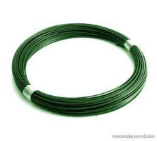 Félkemény PVC feszítőhuzal, zöld, 3,1 mm huzalvastagság (4,1 kg / 100 fm)