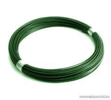 PVC feszítő lágyhuzal, zöld, 3,1 mm huzalvastagság (4,1 kg / 100 fm)