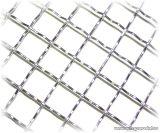 Hullámosított háló, diagonális 40 x 40 mm-es osztással, 3,4 mm-es huzalvastagsággal