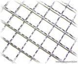 Hullámosított háló, diagonális 50 x 50 mm-es osztással, 3,8 mm-es huzalvastagsággal