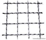 Hullámosított háló, normál 40 x 40 mm-es osztással, 3,4 mm-es huzalvastagsággal