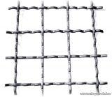 Hullámosított háló, normál 50 x 50 mm-es osztással, 3,4 mm-es huzalvastagsággal