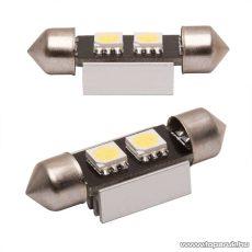 Carguard 2 SMD LED-es sofita izzó rendszám vagy belső tér világítás, fehér, 2 db / csomag (51018)