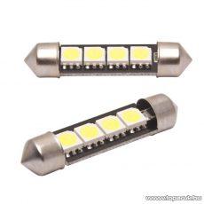 Carguard 4 SMD LED-es sofita izzó rendszám vagy belső tér világítás, fehér, 2 db / csomag (51016)