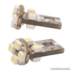 Carguard 8 SMD LED-es T10 izzó rendszám vagy belső tér világítás, fehér, 2 db / csomag (50995) - megszűnt termék: 2015. október