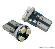 Carguard 3 SMD LED-es izzó helyzetjelző, T10 foglalat, 0,2W, DC12V, 2 db / csomag (51006) - megszűnt termék: 2015. október