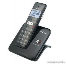 ConCorde 1620 Vezeték nélküli asztali DECT telefon, fekete