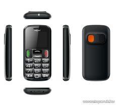 ConCorde sPhone 1300 kártyafüggetlen mobiltelefon idősek számára, fekete