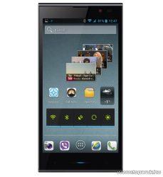 ConCorde SmartPhone 5005 NFC (Dual SIM) 16GB kártyafüggetlen okostelefon, Android operációs rendszerrel, fekete - megszűnt termék: 2016. március