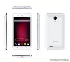 ConCorde SmartPhone 5001 (Dual SIM) 4GB kártyafüggetlen okostelefon Android operációs rendszerrel, fehér