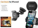 Dension Car Dock for iPhone 5 / 5S / 5C Bluetooth autós kihangosító készlet