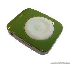 ConCorde D-230 MSD memóriakártyával bővíthető MP3 lejátszó, fehér-zöld