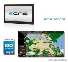 CNS Truck HD 2 PNA készülék, CNS MAP8 EU navigációs szoftverrel - készlethiány