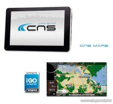 CNS Globe VIA PNA készülék, CNS MAP8 EU navigációs szoftverrel - megszűnt termék: 2015. január