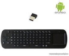 ConCorde Android Smart Keyboard, vezeték nélküli billentyűzet touchpad egérrel - megszűnt termék: 2016. október