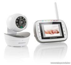 Motorola MBP43 Videós babaőrző, bébiőr (Baby monitor) kamerával, 300 m hatótávolság