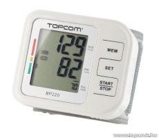 TOPCOM BD-4620 csuklós vérnyomásmérő - készlethiány