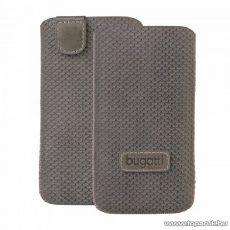 Bugatti Perfect Scale grey Apple iPhone 4/4S szürke álló bőrmobiltelefon tok (07784)