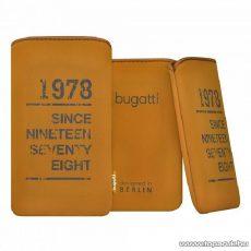 Bugatti SlimCase oak SL tölgy színű álló mobiltelefon tok, 134x77mm (07869)