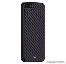 Case-Mate Barely There Carbon iPhone SE / 5 / 5s okostelefon tok / hátlap, karbon mintával, fekete
