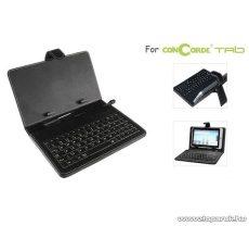 """ConCorde Tab billentyűzetes tok, 7""""-os, mini USB csatlakozó kábellel"""