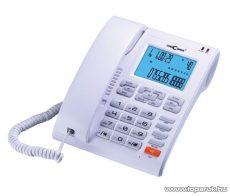 ConCorde 6025CID vezetékes CID telefon Baby Call funkcióval, fehér