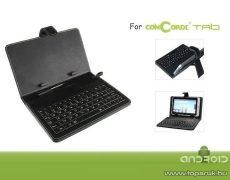 ConCorde Tab billentyűzet és tok tab 10.1 készülékhez - Megszűnt termék: 2012. szeptember