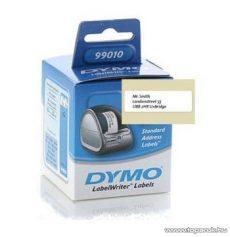 DYMO LW etikett, fehér, 89x28mm, 130 db / tekercs - megszűnt termék: 2016. július