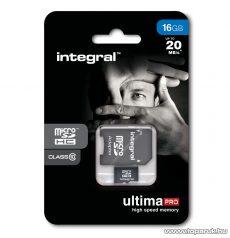 Integral Ultima Pro Micro SDHC memóriakártya, 16GB