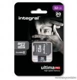 Integral Ultima Pro Micro SDHC memóriakártya, 32GB