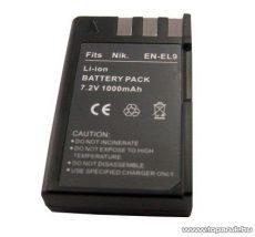 ConCorde for Nikon ENEL9 akkumulátor