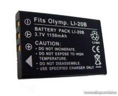 ConCorde for Olympus LI-20B akkumulátor