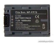 ConCorde for Sony NP-FP70 akkumulátor - megszűnt termék: 2015. február