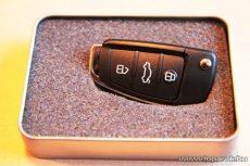 Audi kulcs formájú Pendrive, 8 GB-os - készlethiány