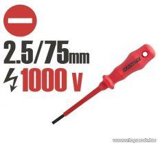 Handy Csavarhúzó, 1000V-ig szigetelt, 145 mm, 2.5 mm (10595)
