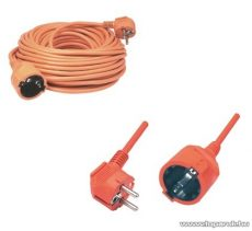 HOME NVC 2-10/OR Hálózati hosszabbító kábel, 10 m, narancs