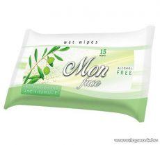 AREON FH 017 Wet Wipes Face Oil arctisztító kendő olivaolajjal, 15 db / csomag - megszűnt termék: 2016. január