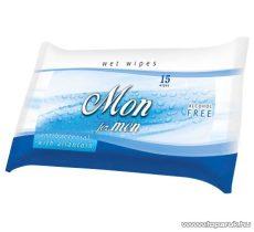 AREON FH 020 Wet Wipes For Men antibakteriális tisztítókendő férfiaknak, 15 db / csomag - megszűnt termék: 2016. január