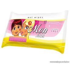 AREON FH 021 Wet Wipes Kids tisztítókendő gyermekeknek, 15 db / csomag - megszűnt termék: 2016. január