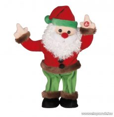 ARTI CASA EDC 9234/M Karácsonyi éneklő, táncoló Mikulás figura, 1 db
