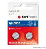 AgfaPhoto AG0 - 1,5V-os gombelem, alkáli LR63, 10 db / csomag