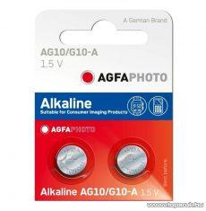 AgfaPhoto AF AG10 1,5V-os gombelem, alkáli LR54, 10 db / csomag