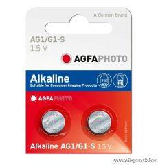 AgfaPhoto AG1 - 1,5V-os gombelem, alkáli LR60, 10 db / csomag